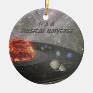 It's a Musical Universe Ceramic Ornament