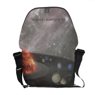 It's a Musical Universe Messenger Bags