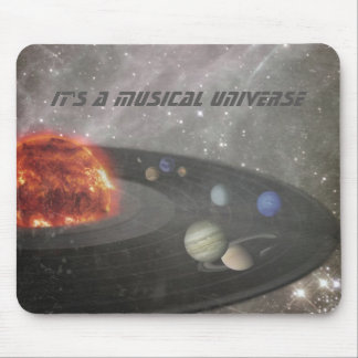 It's a Musical Universe Mouse Pad