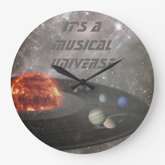 It's a Musical Universe Wall Clock
