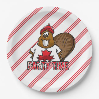 It's A Party Canada Day Party Paper Plates