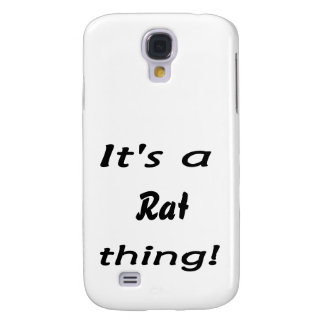 It's a rat thing! galaxy s4 case