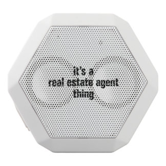 its a real estate agent thing