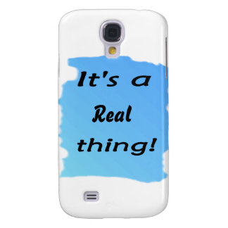 It's a real thing! galaxy s4 cover
