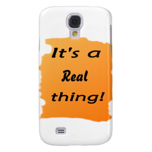 It's a real thing! samsung galaxy s4 covers