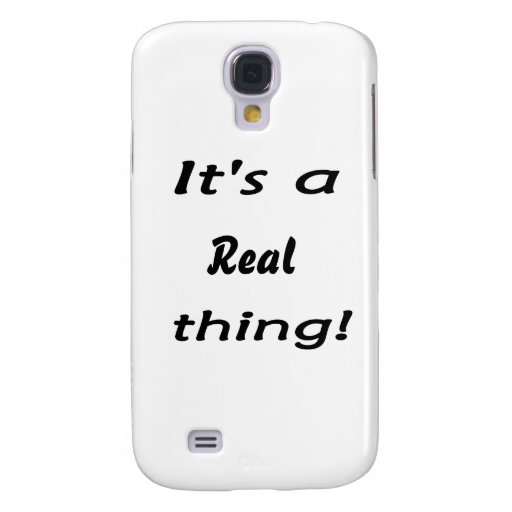 It's a real thing! samsung galaxy s4 cover