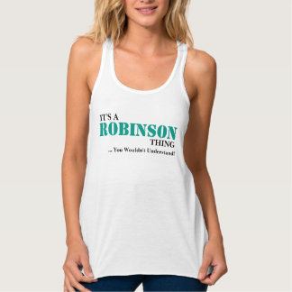 It's A ROBINSON Thing! Singlet