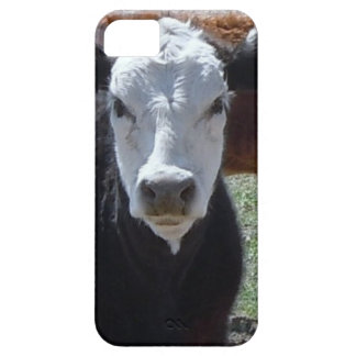 It's a Roundup! Black White Cattle Cow Calf Calves iPhone 5 Cover