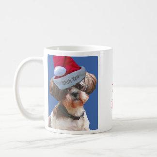 It's a Shih Tzu Christmas mug
