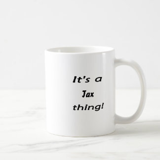 It's a tax thing! mug