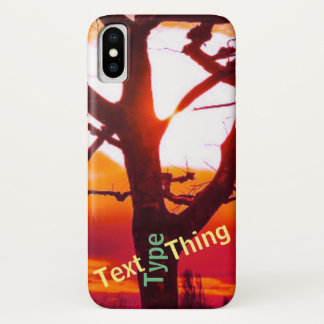 It's a text type thing for music fans. iPhone x case