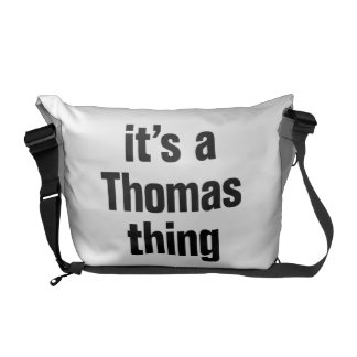 it's a thomas thing courier bags