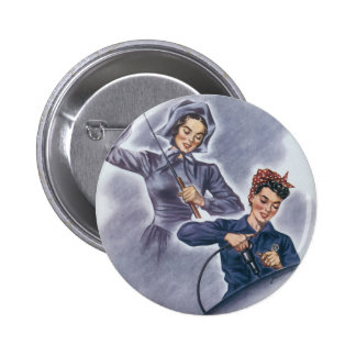 It's a Tradition with Us, Mister! 6 Cm Round Badge