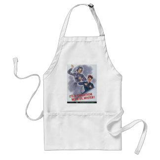 It's a Tradition with Us, Mister! Standard Apron