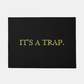 IT'S A TRAP DOORMAT