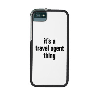 its a travel agent thing iPhone 5 cases