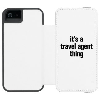 its a travel agent thing incipio watson™ iPhone 5 wallet case