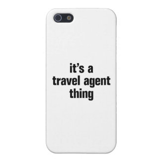 its a travel agent thing iPhone 5 cover