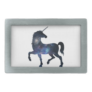 It's A Unicorn Universe Rectangular Belt Buckle