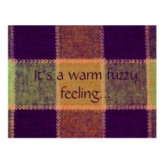 It's a Warm Fuzzy Feeling Postcard