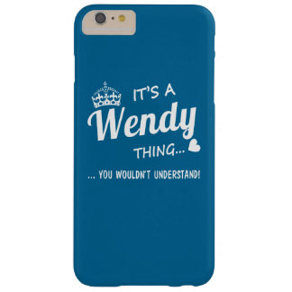 It's a Wendy thing Barely There iPhone 6 Plus Case