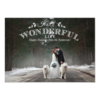 It's a Wonderful Life | Holiday Photo Card