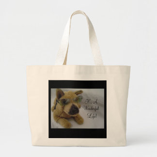 It's A Wonderful Life! Jumbo Tote Bag