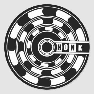 Its a Wormhole Honk! Classic Round Sticker