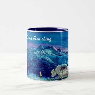 It's a Zen thing Two-Tone Coffee Mug