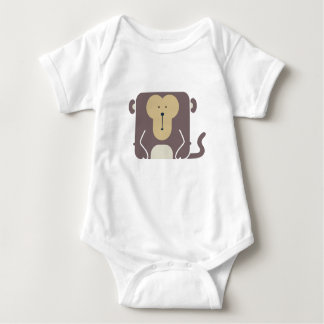 It's a Zoo - Monkey edition! Baby Bodysuit