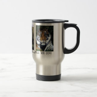 It's a Zoo Out There Stainless Steel Travel Mug