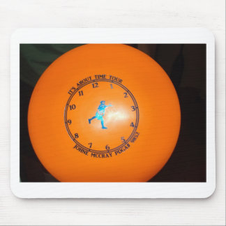 It's About Time Tour Disc Picture Mouse Pad