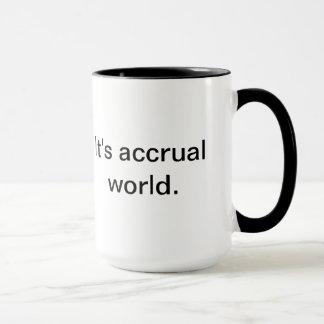 It's accrual world.