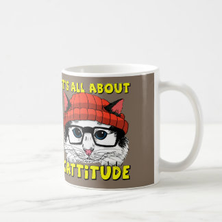 It's All About Cattitude Coffee Mug