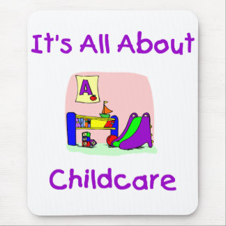 It's All About Childcare Mouse Pad