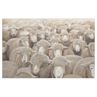 """""""It's All About Ewe"""" Sheep Fabric"""