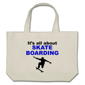 It's All About Skateboarding Bag