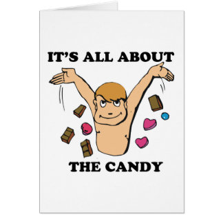 its all about the candy card