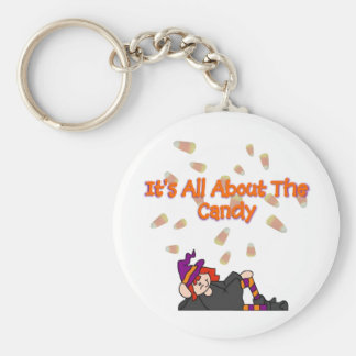 it's all about the candy basic round button key ring