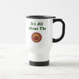 It's all about the coffee Waitress mug