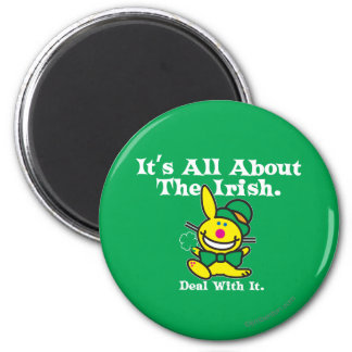 It's All About The Irish (green) Magnet