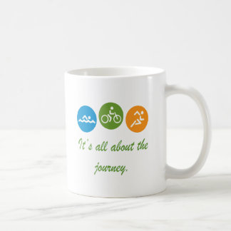 It's all about the journey - Triathlon Coffee Mug