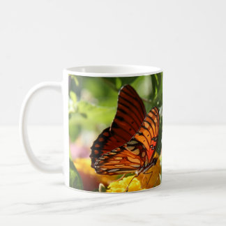 it's all about the simple things, butterfly mug