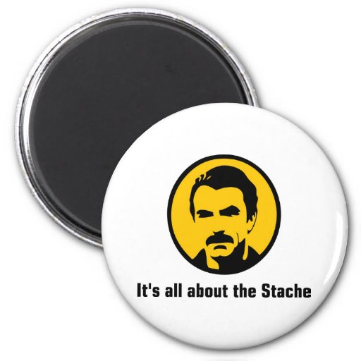 It's All About the Stache Magnet