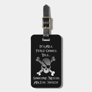 It's All Fun & Games w/ Your Name & Address Luggage Tag