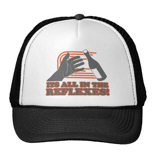 It's All In The Reflexes Mesh Hat