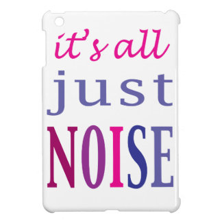 It's All Just Noise iPad Mini Cover