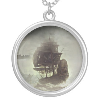 It's All Pirate Silver Plated Necklace