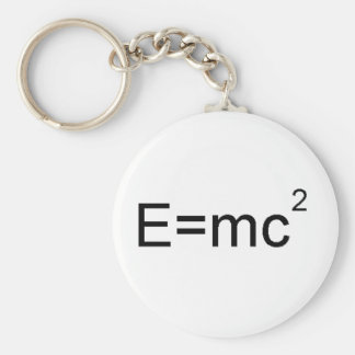 It's all relative basic round button key ring