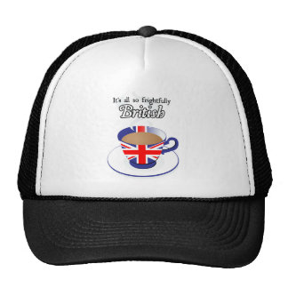 It's All So Frightfully British Trucker Hats